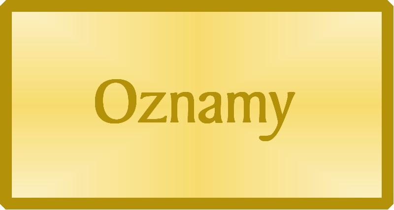 oznamy