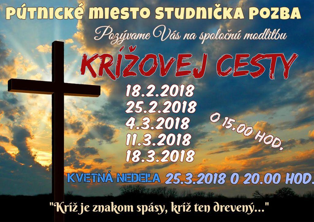 krížová cesta 2018