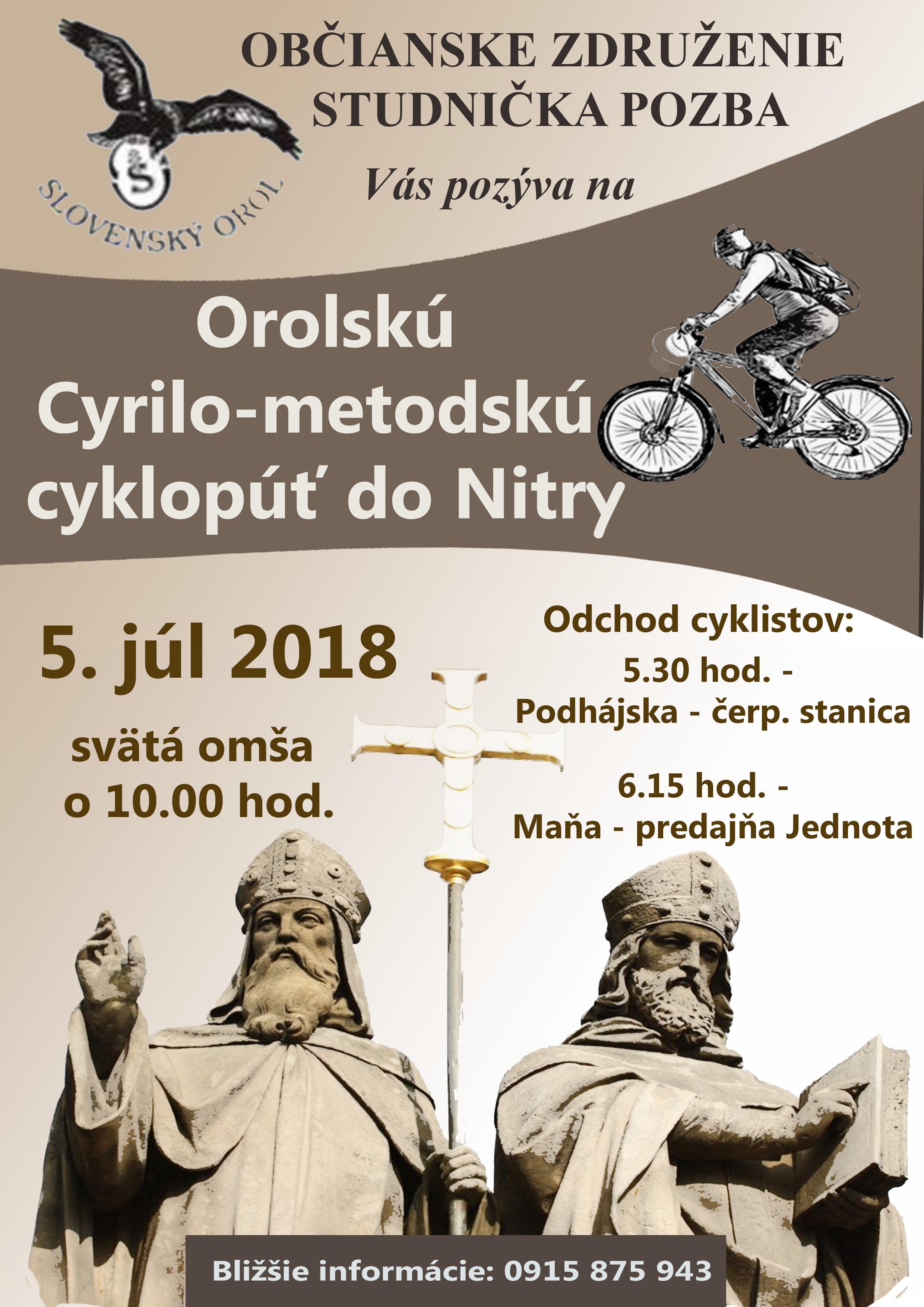 nitra - cyklopúť 2018