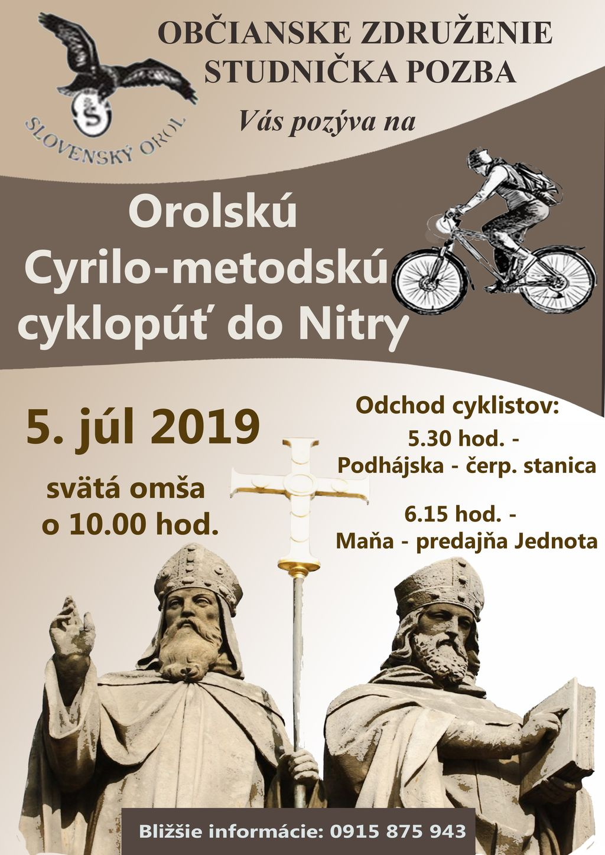 nitra - cyklopúť 2019
